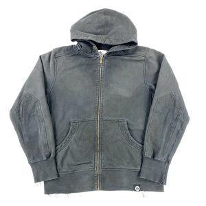 American Giant Zip Up Hoodie Sweatshirt Mens Large